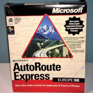 AUTOROUTE EXPRESS 98