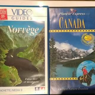 CANADA NORVEGE VHS