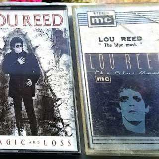CASSETTES AUDIO LOU REED